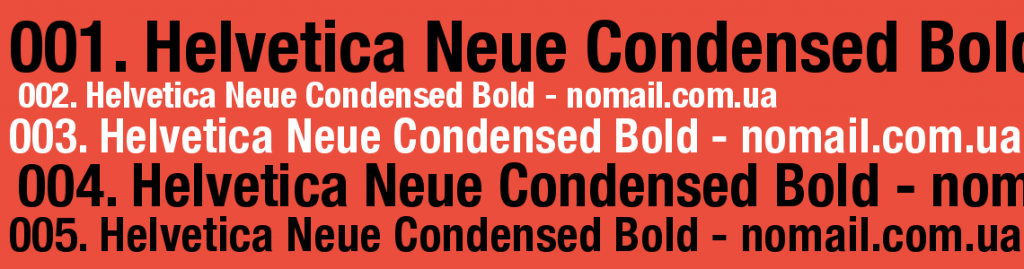 Helvetica Neue Condensed Download Free | Helvetica Fonts