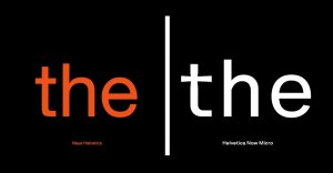 Helvetica Now Micro Free Download